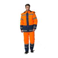 сигнальный костюм ,кост.м для дорожных работ