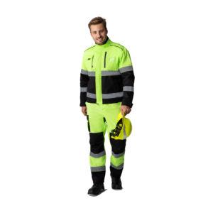 Светоотражающий костюм сигнальная спецодежда